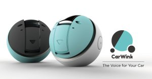 CarWink - This voice gadgets helps drivers communicate while driving