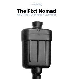 FIXT Nomad helps you drink up clean water anywhere, anytime