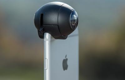 Fishball 360 degree Lens