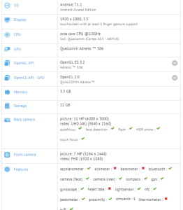 Blackberry BBD100 shows up on GFXbench